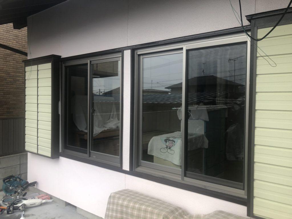 愛知県東郷町 カバー工法による窓のリフォーム工事
